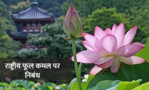 भारत का राष्ट्रीय फूल कमल पर निबंध