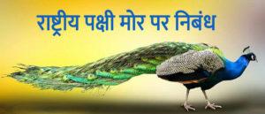 राष्ट्रीय पक्षी मोर पर निबंध