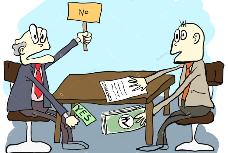 भ्रष्टाचार पर निबंध 1